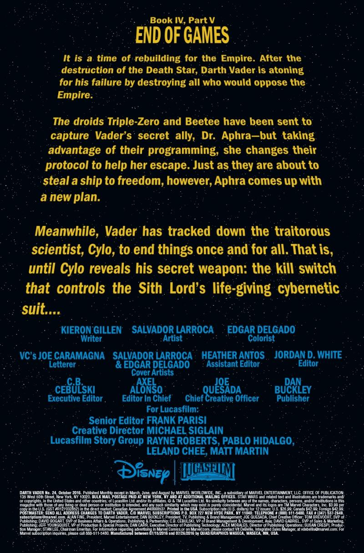 Darth Vader #24 Page 1