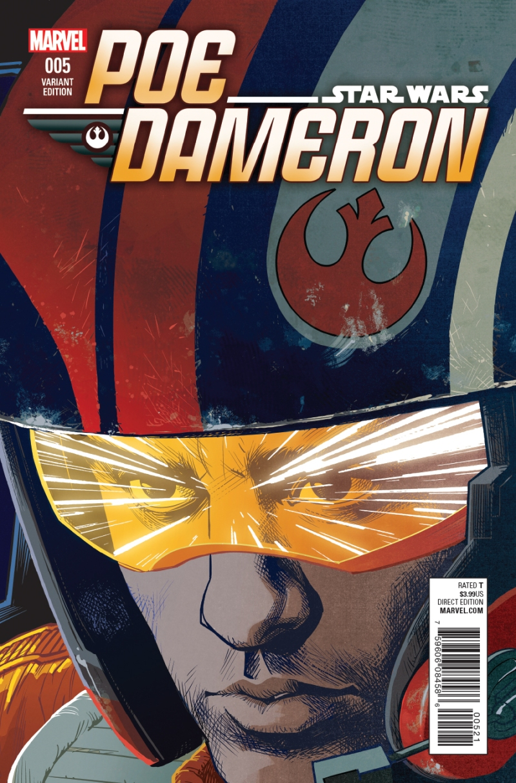Poe Dameron #5 Cover 2