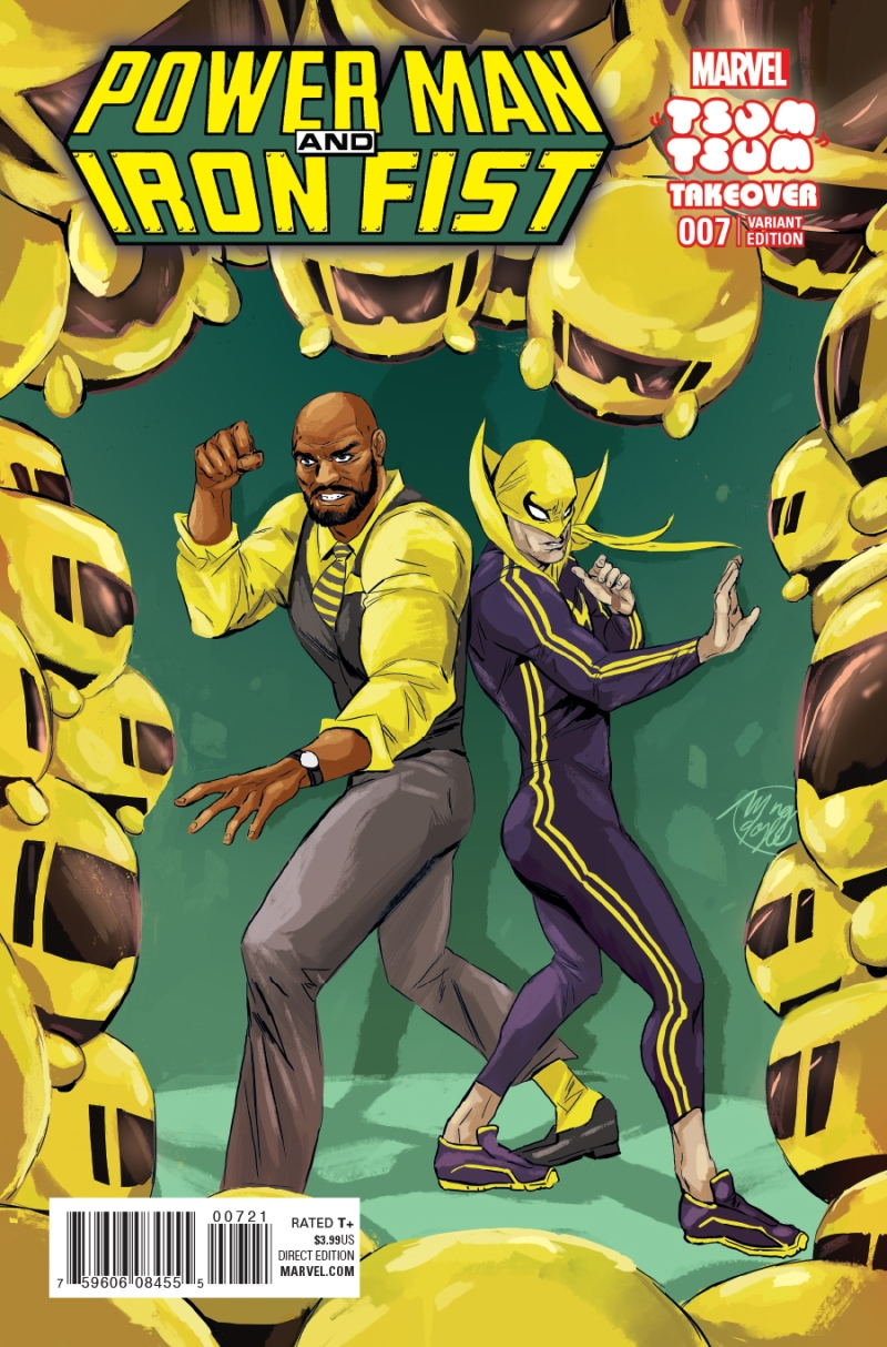 Power Man & Iron First #7 Cover 2