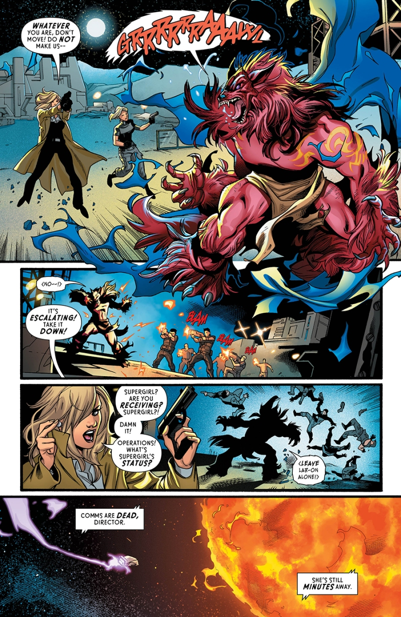 Supergirl Rebirth #1 Page 5