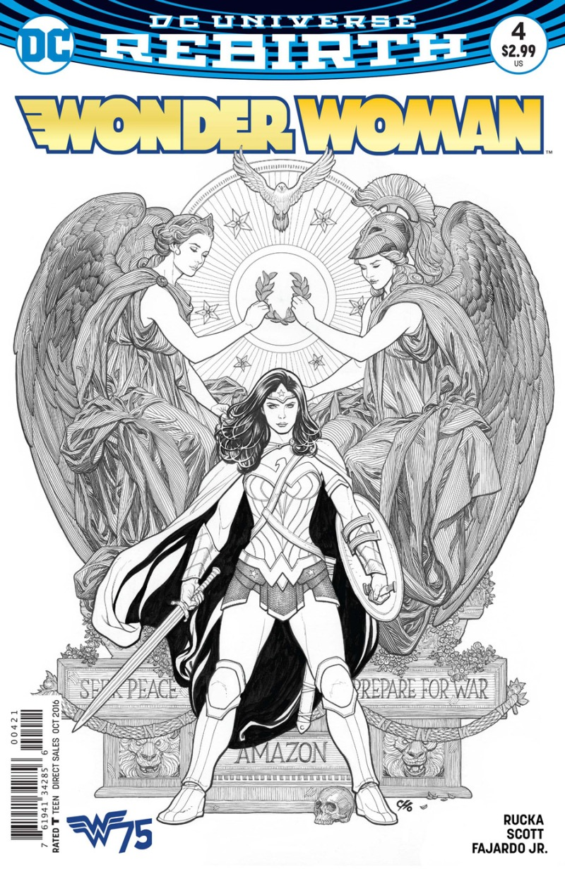 Wonder Woman #4 Cover 2