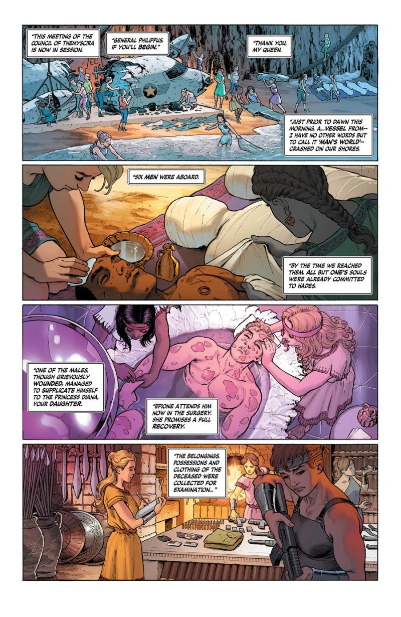 Wonder Woman #4 Page 1